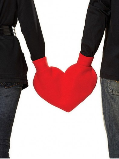 corazon guantes