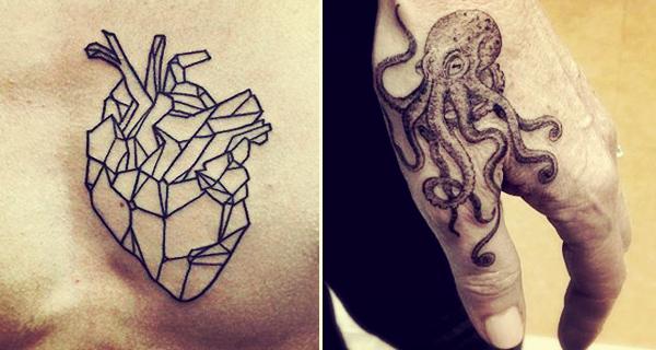 Diseños Originales De Tatuajes Sobre Colibrís