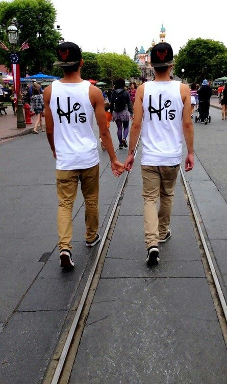 his his