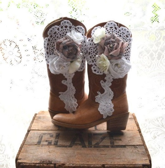 lace bridal boot17