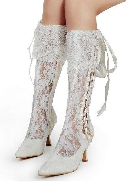 lace bridal boot19