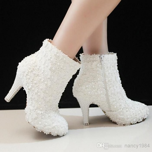lace bridal boot20