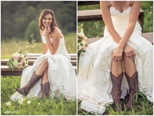 lace bridal boot5