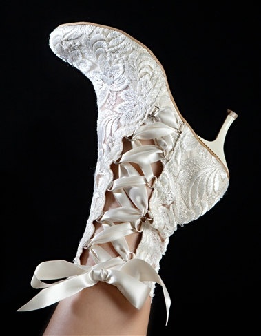 lace bridal boot8