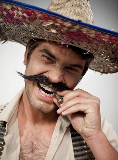 "Skintricks ""Mexican"" Moustache"