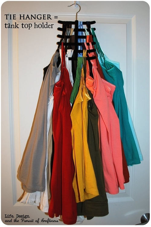 14 maravillosos trucos para organizar tu peque o cl set - Ideas for clothes storage in small space image ...