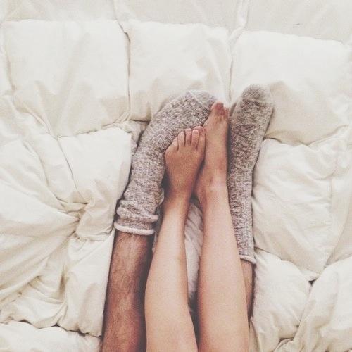 pies calcetines