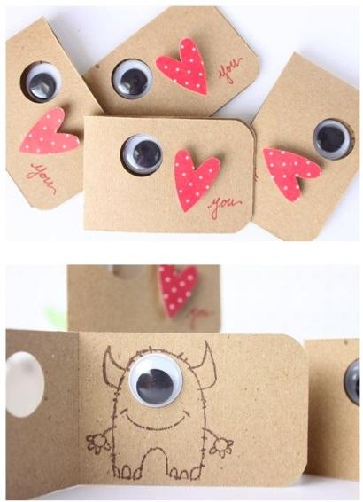 20 Creativas Tarjetas De San Valentín Que Tú Mism At Puedes Hacer
