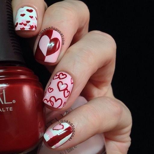 Corazones Por Todos Lados 20 Diseños De San Valentín Para