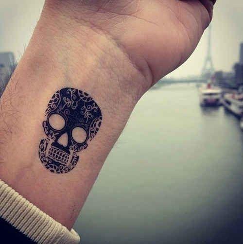 skull tato
