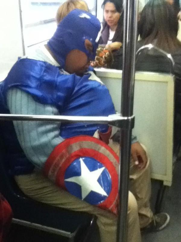 super heroes dormir