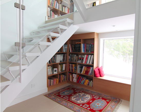 ways to use the space under your stairs11