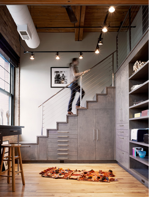 ways to use the space under your stairs12
