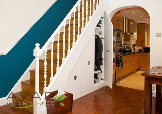 ways to use the space under your stairs3