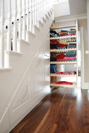 ways to use the space under your stairs4