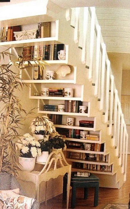 ways to use the space under your stairs5