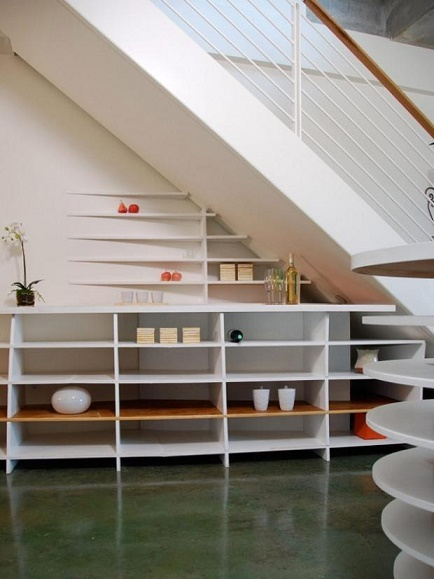 ways to use the space under your stairs6