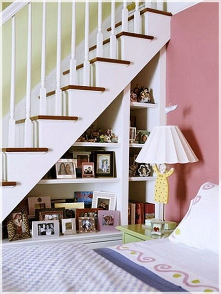 ways to use the space under your stairs7