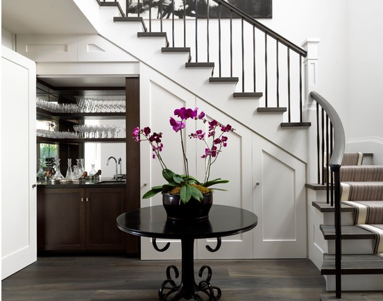 ways to use the space under your stairs9