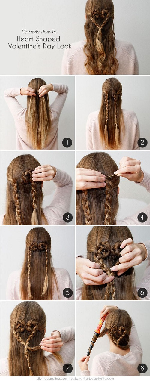hairstyles heart shaped8