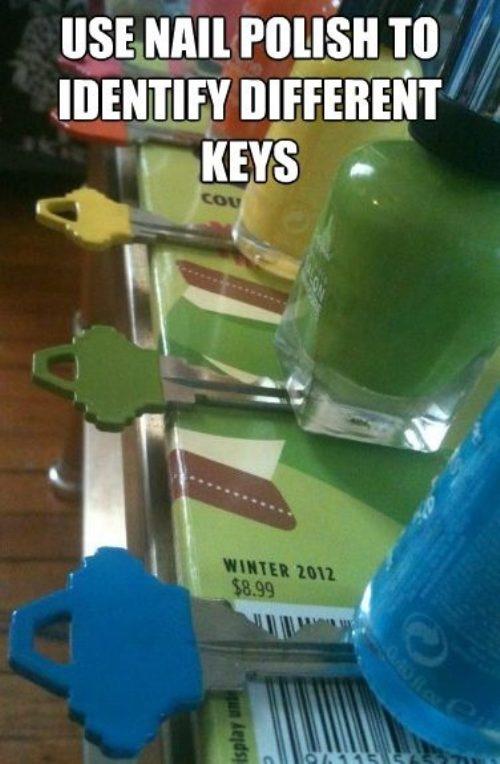 para las llaves