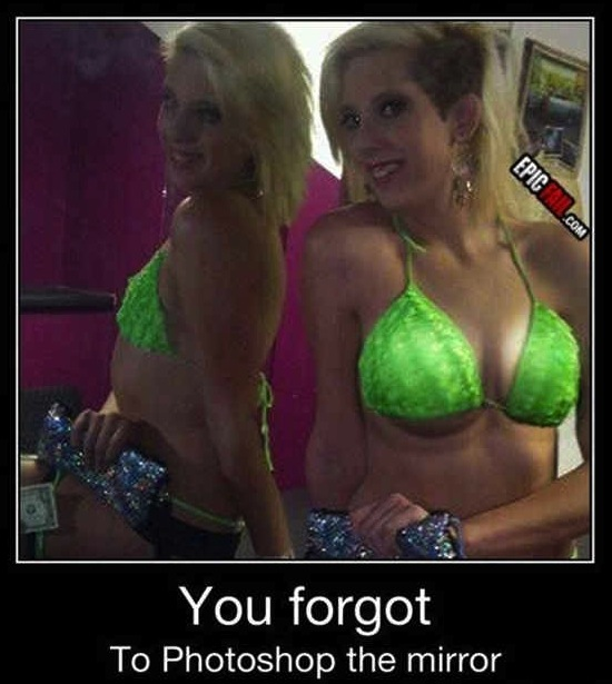se te olvido photoshopear