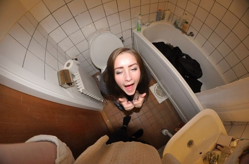 sitting on the toilet4