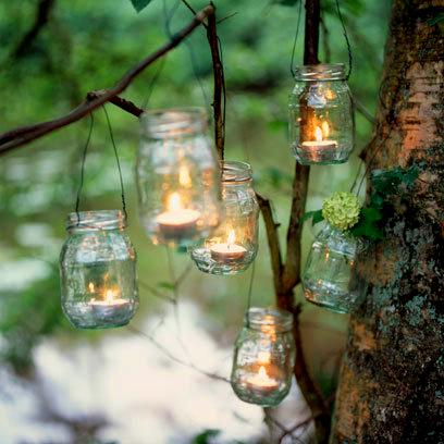 tarros con velas