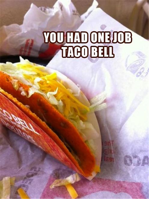 you had one job18
