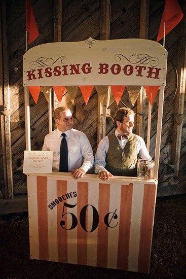 50 centavos por beso