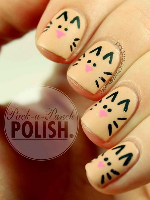 animal nail art17