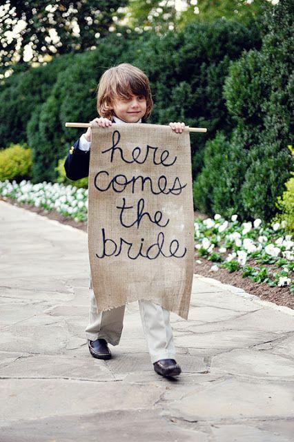 aqui viene la novia