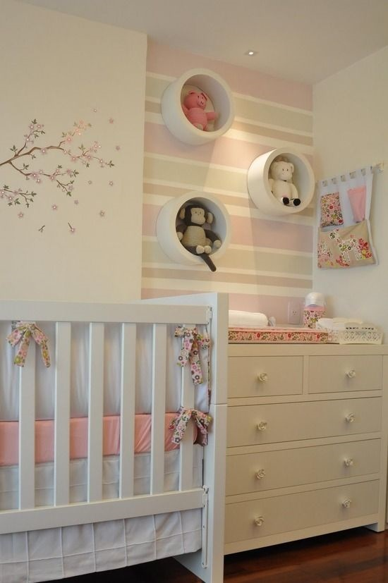 21 ideas para decorar el cuarto del beb que viene en camino for Habitacion para bebe