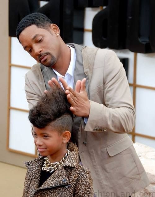 dad takes his daughter's hair 11
