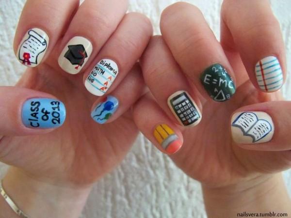 9eeefeab7 20 Diseños de uñas que necesitas llevar a la escuela