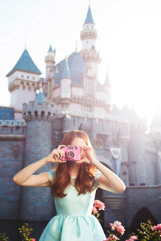 disneyland photoshoot