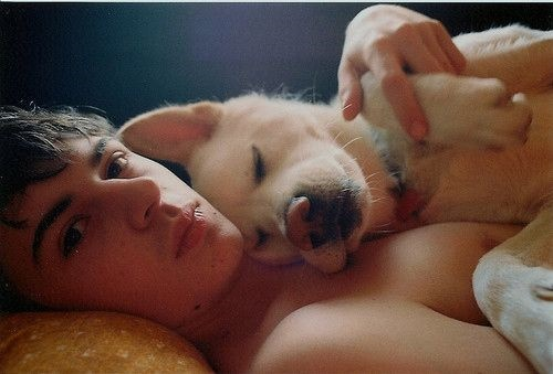 men with pets15