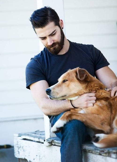 men with pets22
