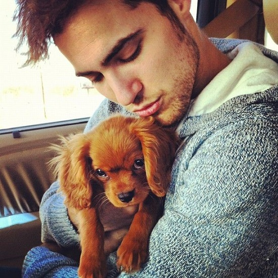 men with pets25