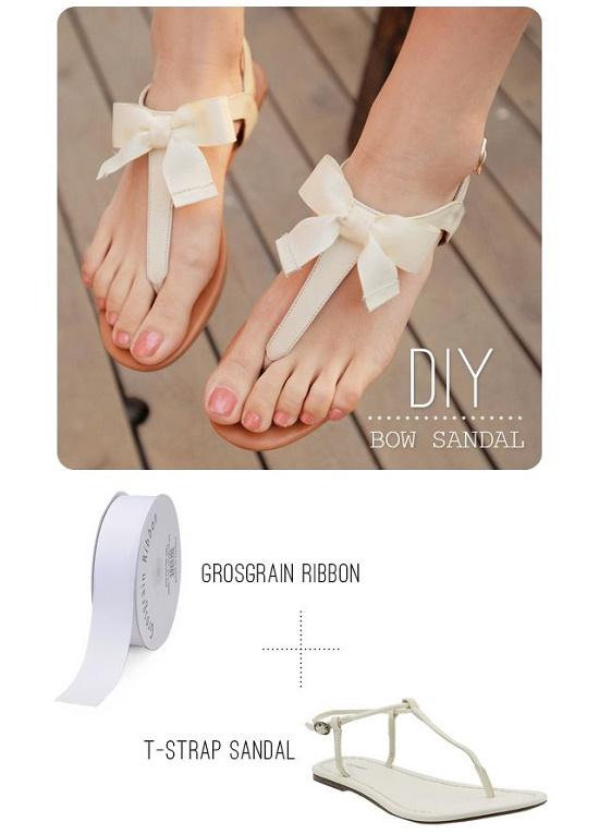 sandals DIY