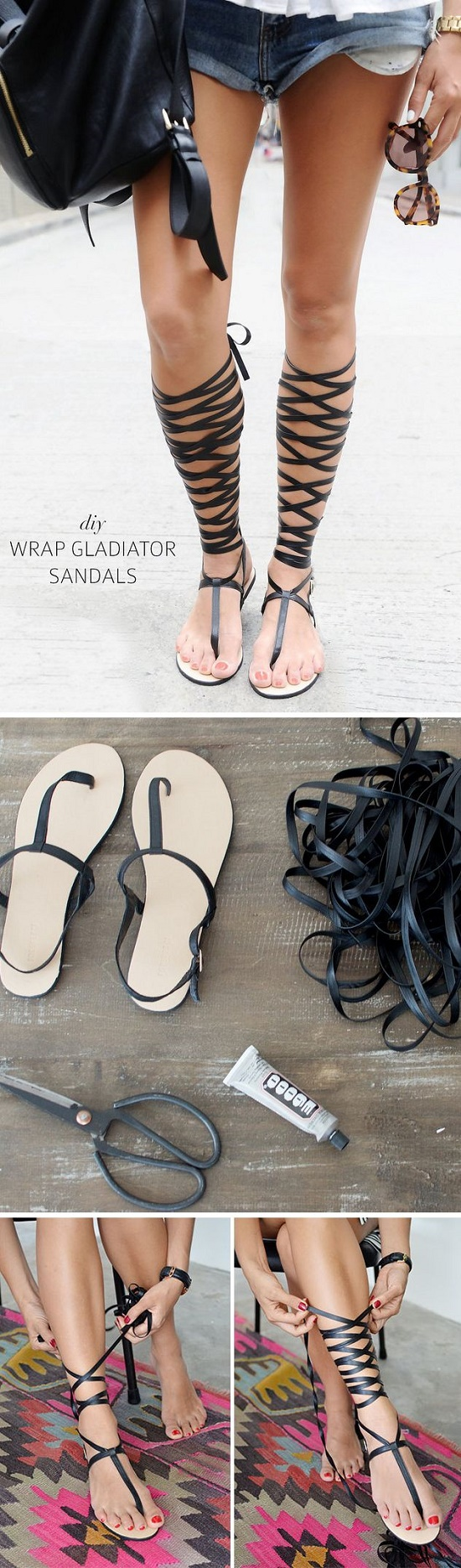 sandals DIY10