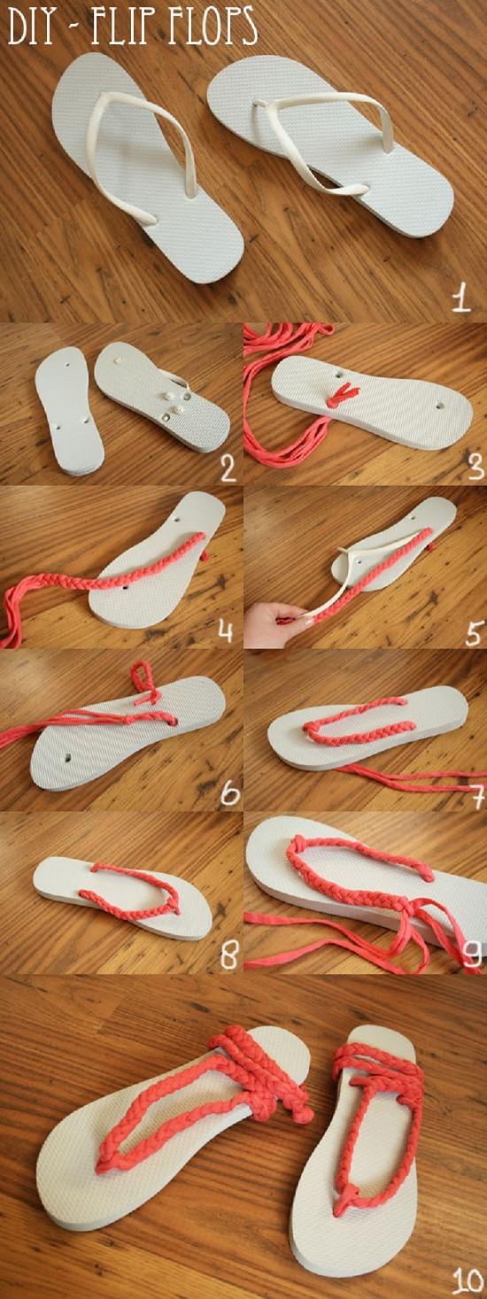 sandals DIY2