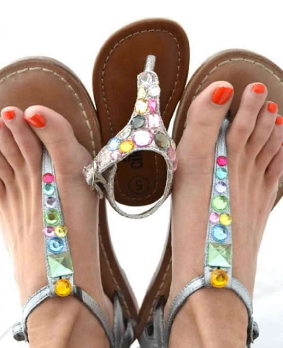 sandals DIY4
