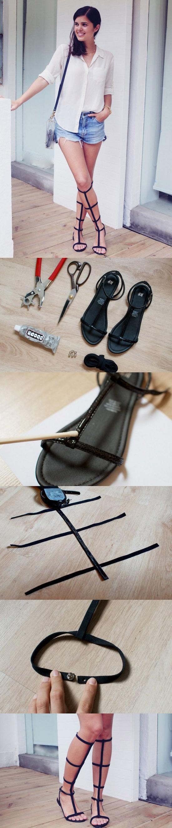 sandals DIY6