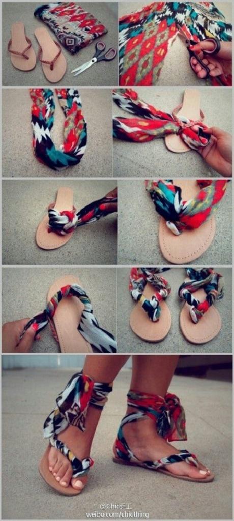 sandals DIY8