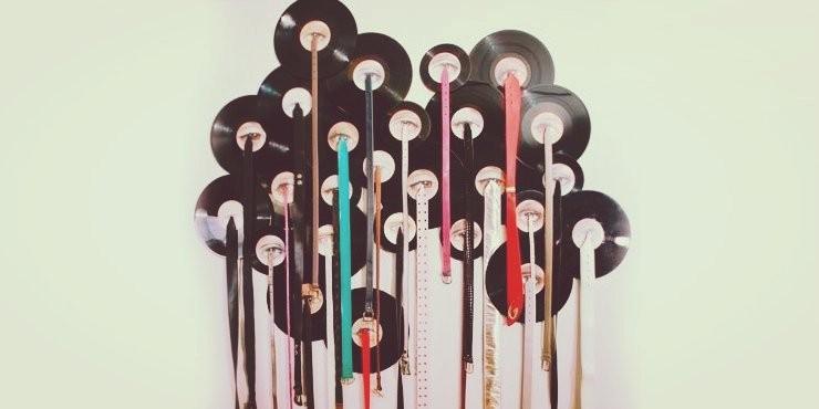 25 Maneras De Convertir Un Disco De Vinilo En La Decoración