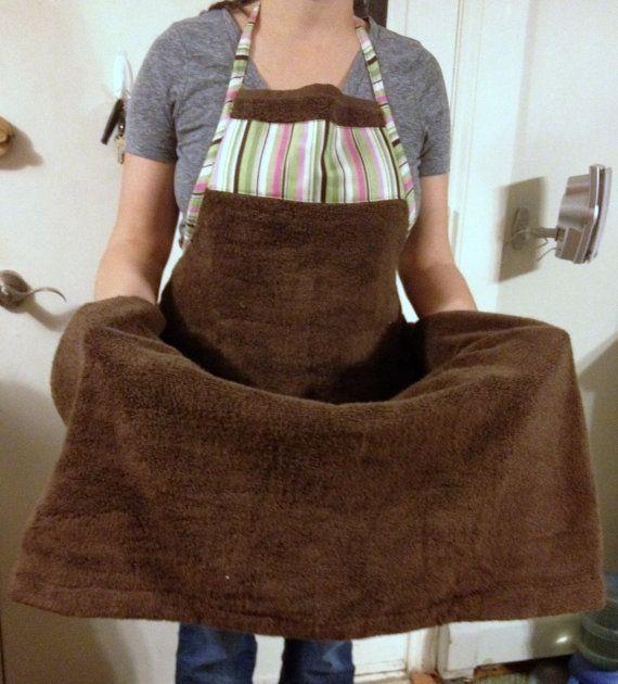 Baño De Regadera En Recien Nacido:Baby Bath Apron Towel