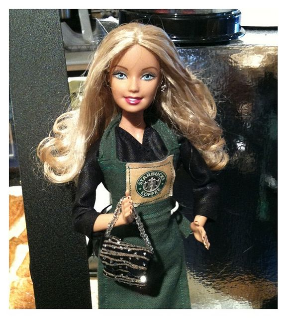 barbie starbucks