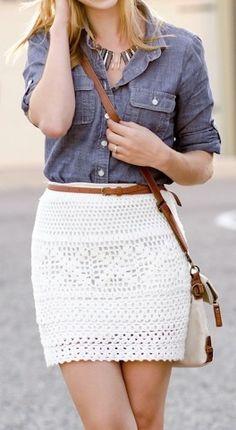falda-crochet-blanca-blusa-mezclilla