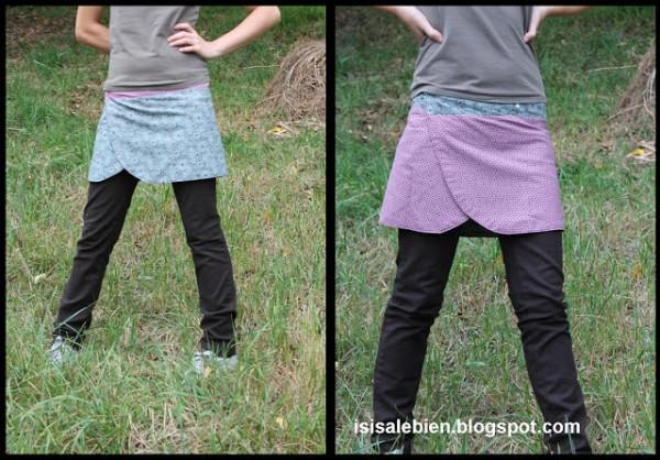 falda sobr epantalón 10